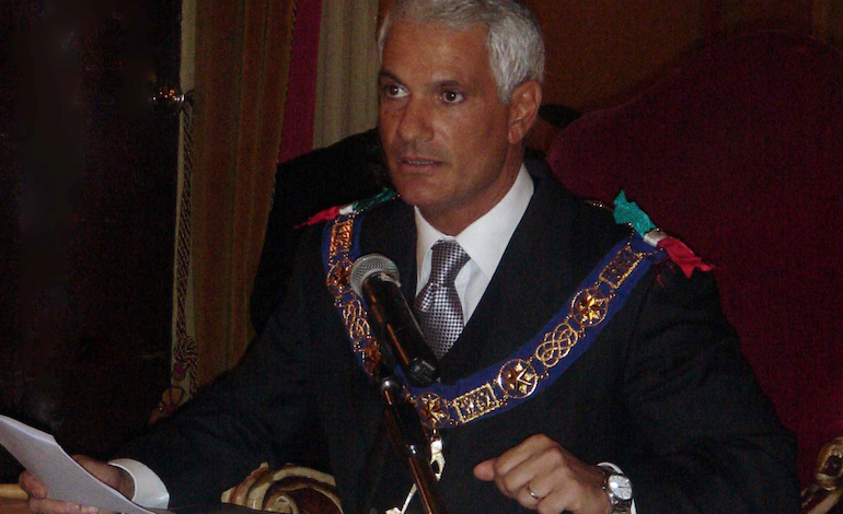 Il Gran Maestro della Gran Loggia Regolare d?Italia Fabio Venzi